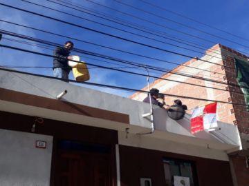 """Le mostramos el """"cacerolazo, petardazo y carajazo"""" de Potosí"""