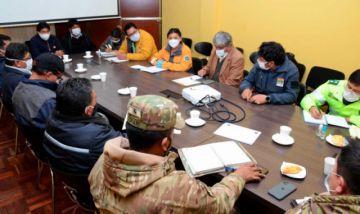 Choferes de El Alto vuelven a trabajar desde el lunes con 40 % de vehículos
