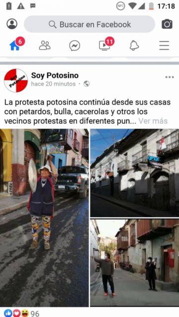 Páginas de Facebook plagian fotografías de El Potosí