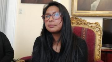Eva Copa niega visita a implicados en compra de respiradores y acusa a viceministro de difamación