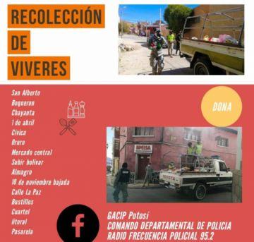 Gacip desarrolla campaña de recolección de alimentos