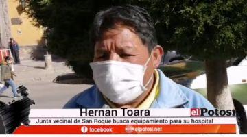 Vecinos piden mejoras para el hospital de San Roque
