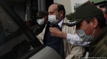 El exministro Navajas presentó un cuadro de hipertensión y está bajo vigilancia policial