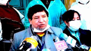 Diputados de Oruro anuncian huelga de hambre en demanda de reactivos y laboratorio