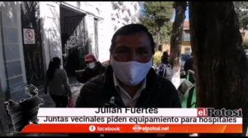 Juntas vecinales piden equipar establecimientos de salud