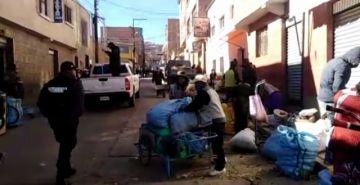 La Intendencia pide por favor el retiro de comerciantes ambulantes