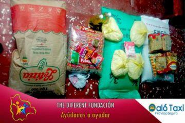 Fundación The Diferent entrega alimentos en el Día de la Madre