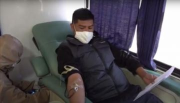 Pacientes recuperados de COVID-19 ya donan sangre en Potosí