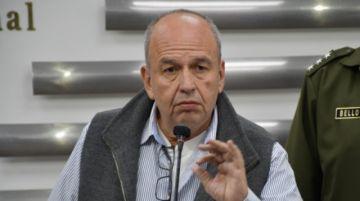 """Ministro Murillo señala que hay corruptos """"incrustados"""" en ministerios, la Policía y el Ejército"""