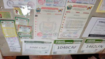 Cae organización que falsificaba y vendía pases de circulación de gremiales