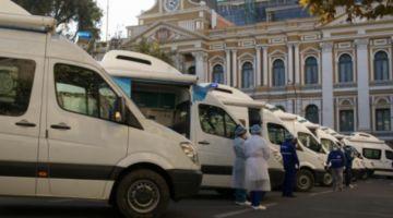 Gobierno denuncia que caravana de ambulancias sufrió acoso y amenazas al llegar a Cochabamba