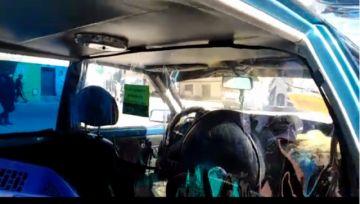Comerciantes ofrecen separadores para evitar contacto conductor-pasajeros
