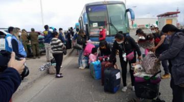 Más de 6.000 bolivianos retornaron al país por la vía terrestre y 1.815 en avión durante la pandemia