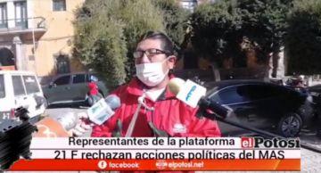 Representantes de plataformas rechazan acciones políticas en torno a las elecciones