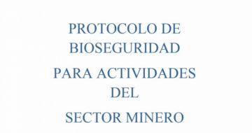 Lea aquí el protocolo de bioseguridad para el sector minero