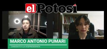 """Pumari: """"No podemos poner una fecha tentativa para las elecciones, no podemos ser irresponsables"""""""