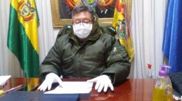 La Policía brinda su informe matinal en Potosí