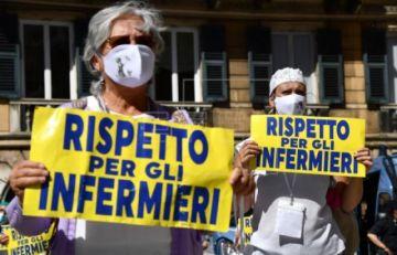 Italia registra 85 fallecidos y 518 nuevos contagios de COVID 19 en 24 horas