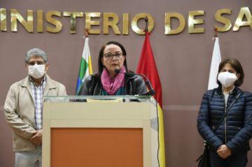 Ministra Roca pronostica 100 mil casos de coronavirus hasta fines de julio