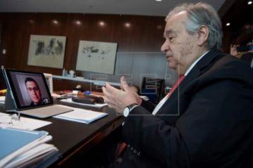 """Guterres: """"Latinoamérica necesita solidaridad internacional"""" ante la Covid-19"""