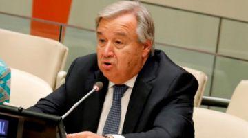 """Guterres: """"Hay que combatir el nacionalismo, el populismo. Lo que nos divide"""""""