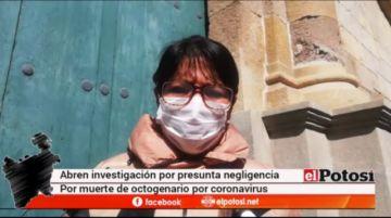 Ministerio Público investiga muerte de octogenario por COVID-19