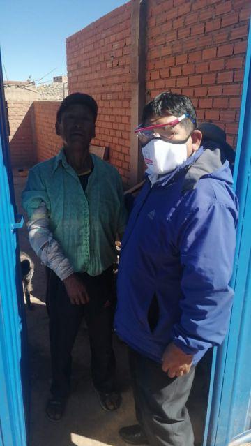 La DDE llegó con bolsas solidarias a los barrios