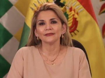 """Áñez pide a Trinidad en su aniversario """"fuerza"""" para vencer el coronavirus"""