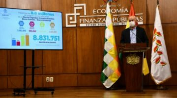 "Parada acusa a Arce de dejar ""un hueco en el TGN de 18 mil millones de bolivianos"""