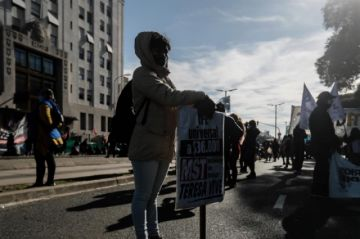 Protestas en Argentina por la situación de los más pobres durante la pandemia