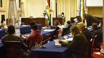 MAS perfila ley de estado de excepción que permite conflictos y protestas