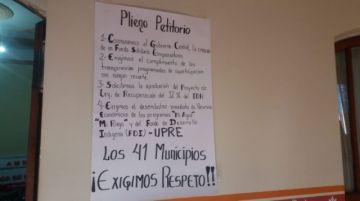 La huelga de hambre de representantes de municipios continúa por más recursos
