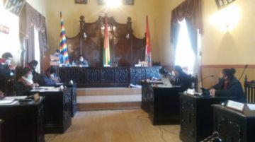 El Concejo Municipal está en sesión
