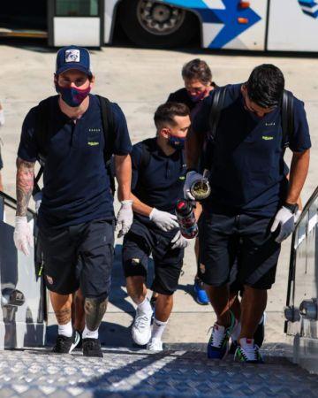 Messi regresa luego de casi 100 días en la visita del líder Barcelona al Mallorca