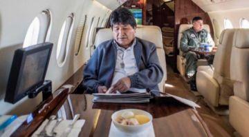Morales estuvo entre el 12% y 18% de su gestión en viajes internacionales