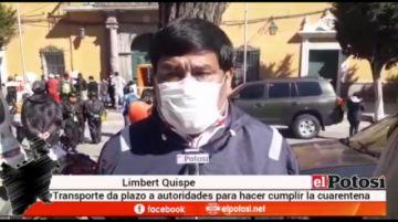 Transporte público COSEP da 24 horas para que se haga cumplir la cuarentena rígida