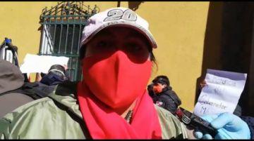 Plataformas de mujeres piden la renuncia del gobernador Omar Véliz