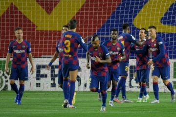 El Barcelona no falla ante el colista del torneo español