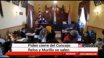 Declaran cuarto intermedio en el Concejo Municipal de Potosí