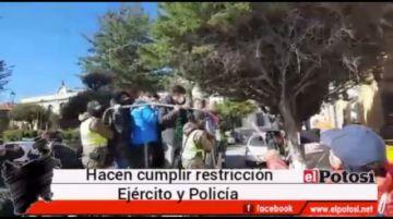 A media mañana ya había 50 arrestados infractores de la cuarentena