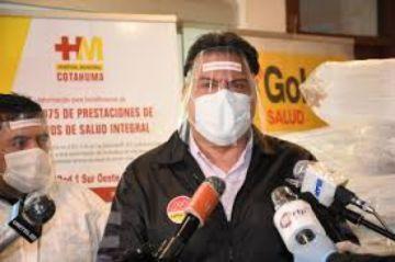 El alcalde de La Paz se aísla luego de que una funcionaria edil diera positivo al Covid-19