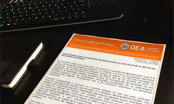OEA  descalifica artículos que niegan el fraude en Bolivia