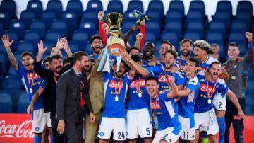 Nápoles se corona campeón de la Copa de Italia