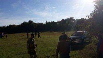 Efectivos de Umopar y fiscales llegan a Bella Vista para investigar narcotráfico