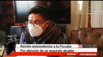 Alcalde López enviará caso de elección de otro alcalde a la Fiscalía