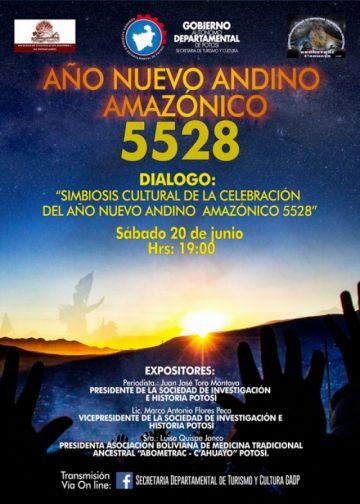 Gobernación de Potosí presenta diálogo sobre en Año Nuevo Andino 5528
