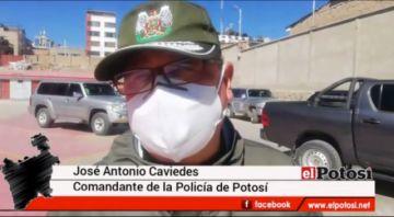 Se confirma un nuevo policía con COVID-19 en Llallagua