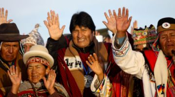 Bolivia recibe el Año Nuevo Andino-Amazónico sin Evo Morales