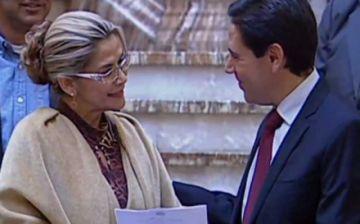 La presidenta Áñez convoca a una reunión al presidente del TSE para discutir la fecha de elecciones