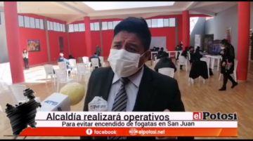 Alcaldía de Potosí mantiene en vigencia multas a fogatas de San Juan